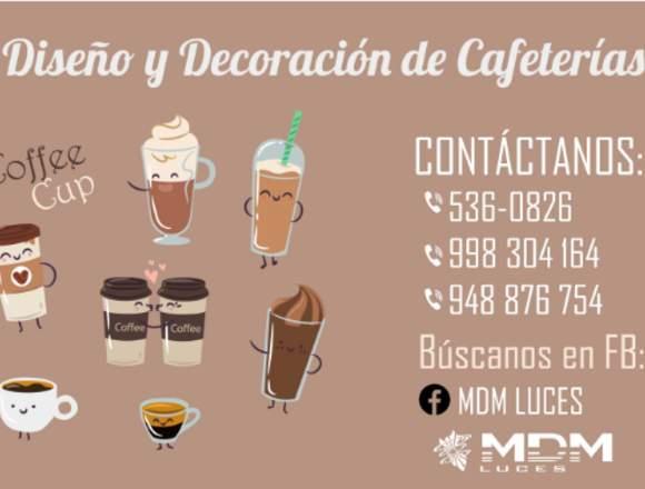 CAFETERÍA DISEÑO Y DECORACIÓN - TODO PERÚ