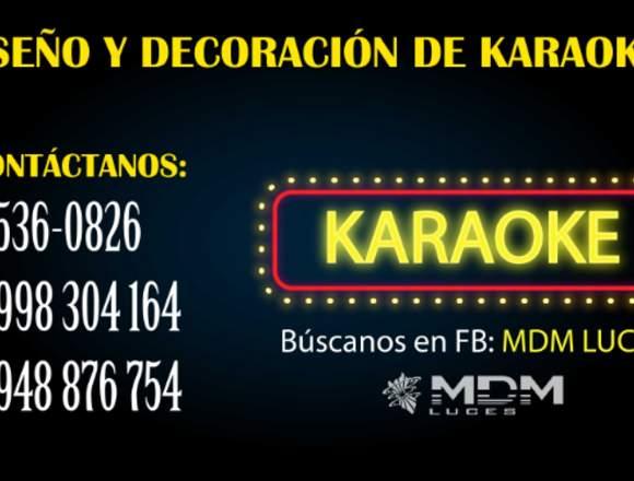 KARAOKE DISEÑO Y DECORACIÓN - TODO PERÚ