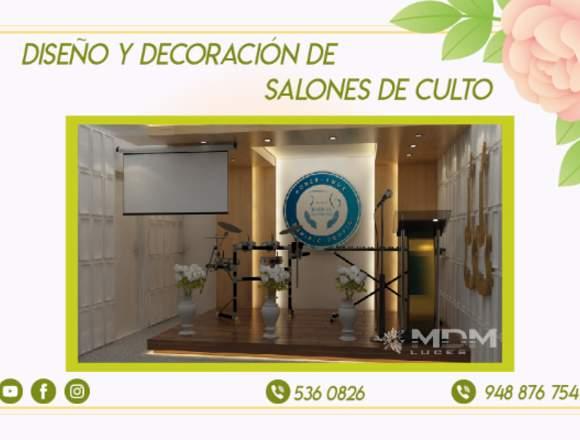 SALONES DE CULTO, IGLESIAS, TEMPLOS DISEÑO 3D