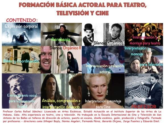 ACTUACION PRINCIPIANTES TECNICA CUBANA