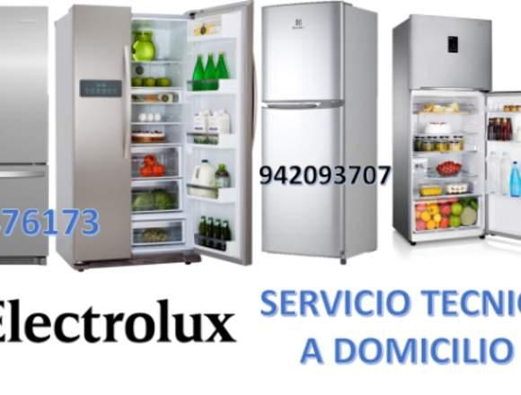 TECNICOS A DOMICILIO REFRIGERADORAS ELECTROLUX