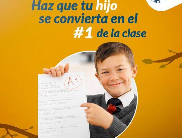 Clases de matemática y comunicación para primaria