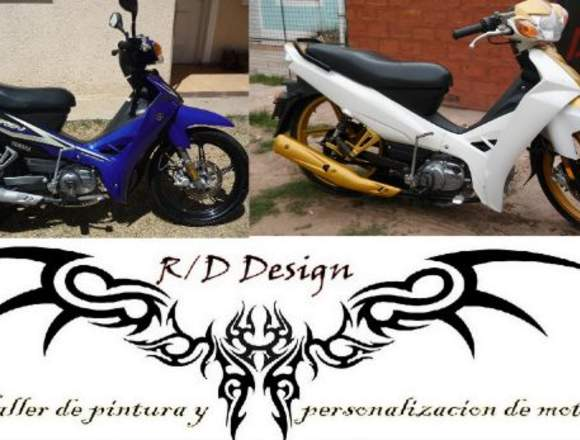 --- R/D Design --- Taller de pintura para motos