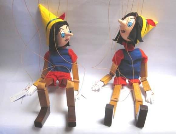 En venta marioneta de personajes  de cuento