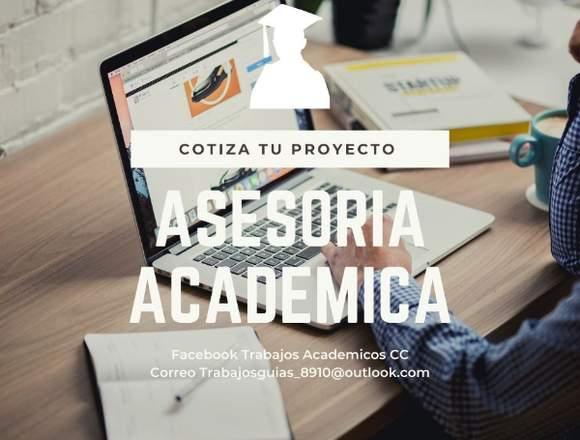 Asesoría en Tesis, Trabajos Universitarios