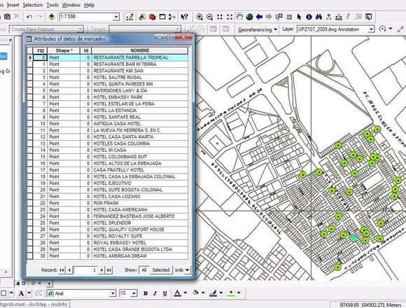 Estudios de Geomarketing Bogotá