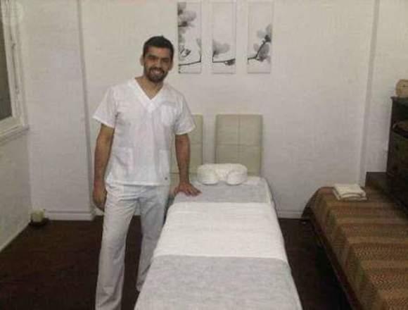 Masajes para damas a domicilio u hospedaje