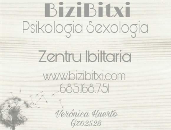 Psicología – sexología a domicilio. Zarautz-Eibar.