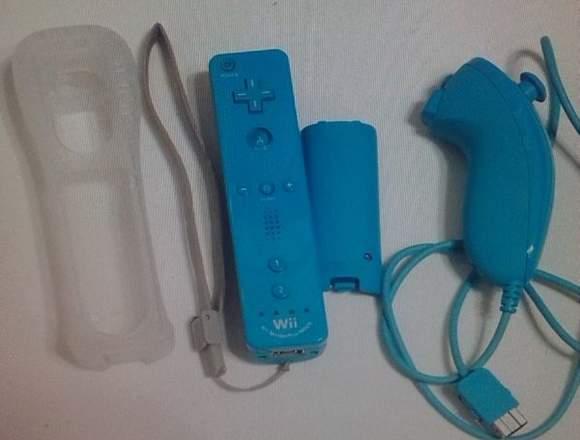 Vendo Wii Azul Edición Especial Skylanders Giants