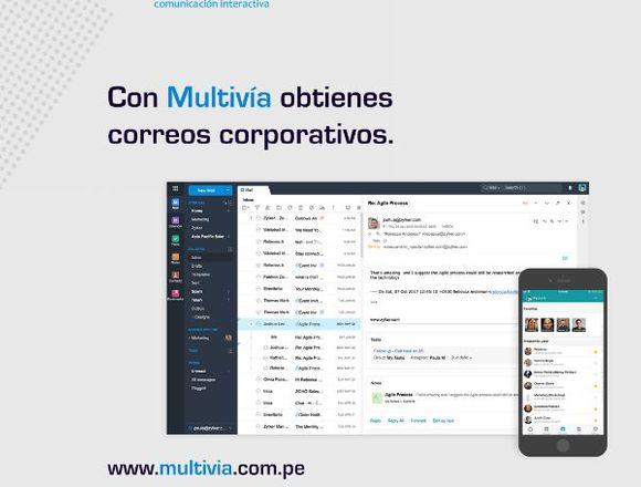 Multivia - Diseño De Páginas Web Corporativas