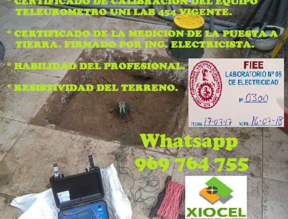 POZO A TIERRA MANTENIMIENTO CERTIFICAMOS 969764755