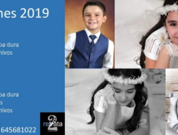 retrata2. COMUNIONES 2019, REPORTAJE DESDE 95 EUR