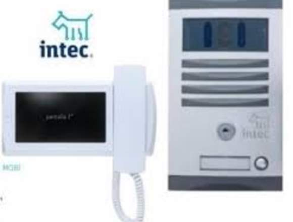 Interfon videoportero reparacion intec