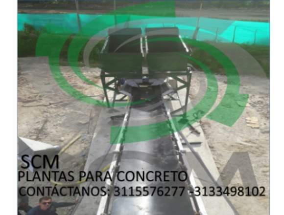 BANDAS TRANSPORTADORAS DE MATERIAL EN SECO