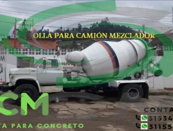 OLLAS PARA CAMIONES MEZCLADORES