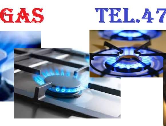 Reparación de estufas a gas. teléfono.4794380