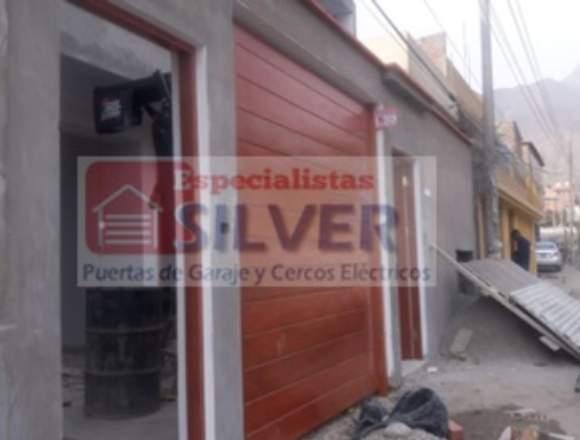 PUERTAS SECCIONALES Y CERCOS ELECTRICOS SILVER