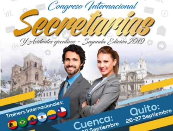 CONGRESO SECRETARIAS Y ASISTENTES EJECUTIVAS 2019