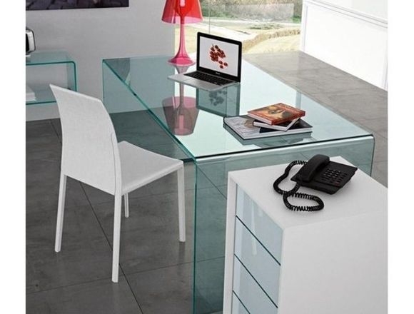 Mesa Concord, diseño, cristal 150 x 80 cm