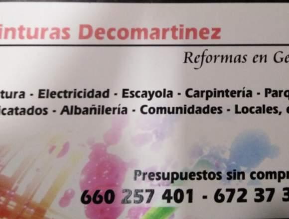 Pinturas Decomartinez