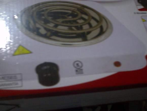 cocina de una  hornilla  electrica