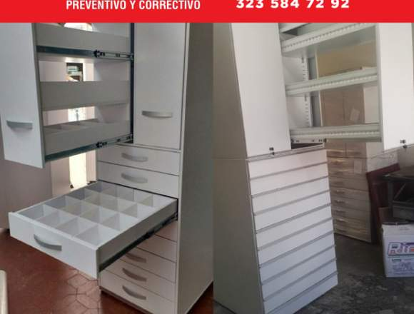 mobiliario optimo para farmacias, eps, ips