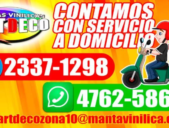MANTAS VINILICAS ART DECO