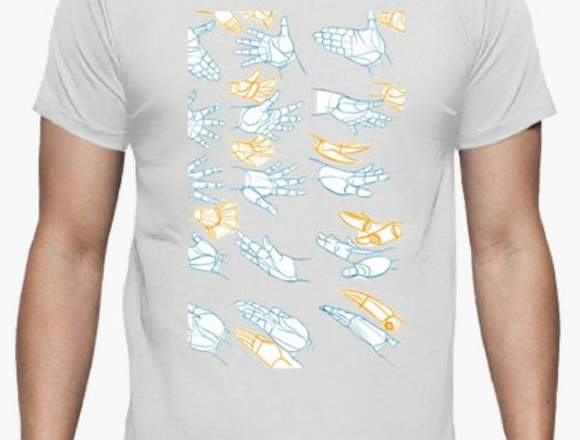 Camisa hombre NUEVA de manos