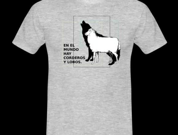 Camisa Eres un cordero o un lobo