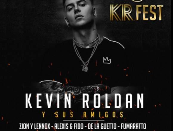 3 Boletas  concierto KEVIN ROLDÁN -Movistar