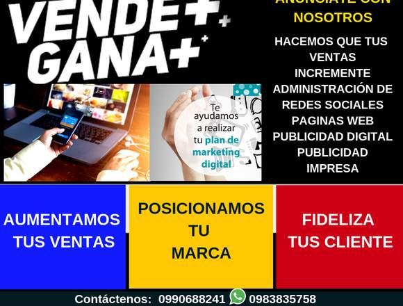 Publicidad Digital y Publicidad Impresa