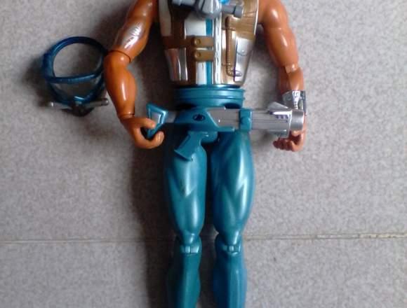 Muñecos de hombres Max Steel como nuevos