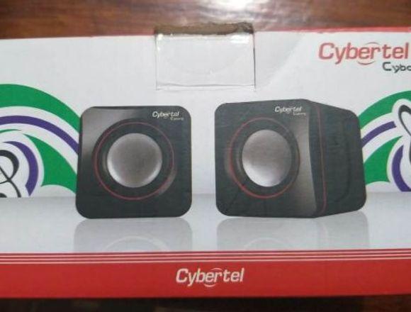 Mini parlantes Cybertel