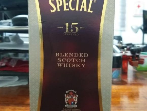 Whisky SOMETHING SPECIAL 15 Años 750ml