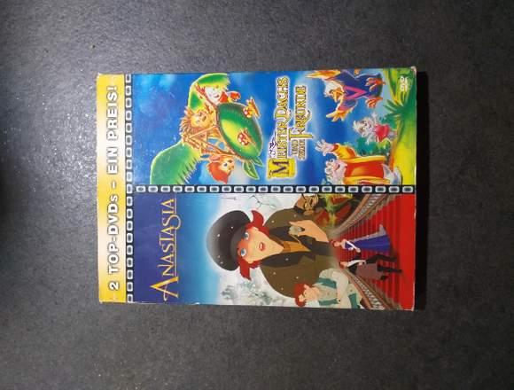 DVD Anastasia und Meister Dachs