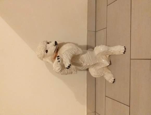 Porzellan Hund Langhaar Pudel