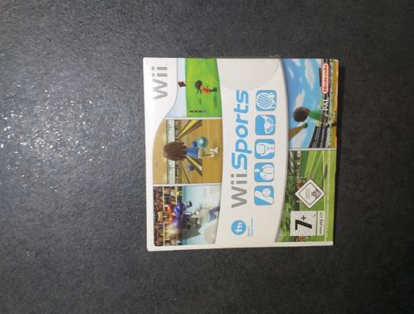 Wii Sports Spiel in Blister
