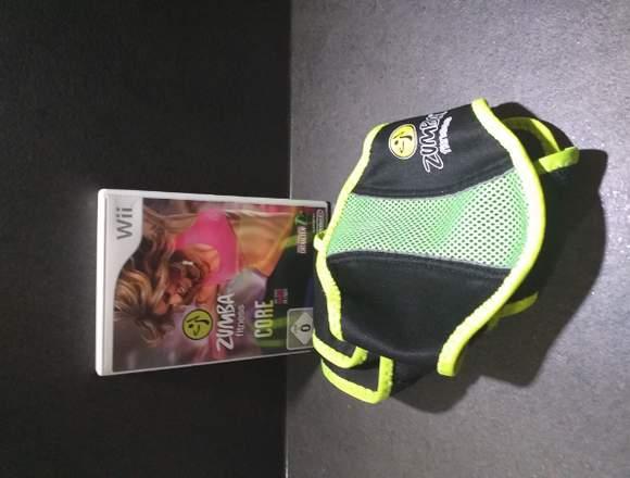 WII Zumba Fitness Core mit Gürtel