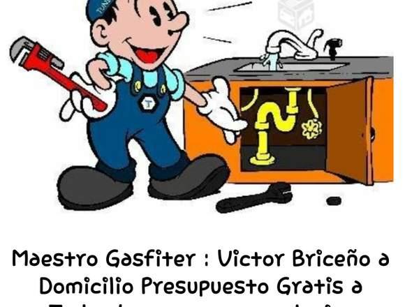 Gasfiter a Domicilio Presupuesto Gratis