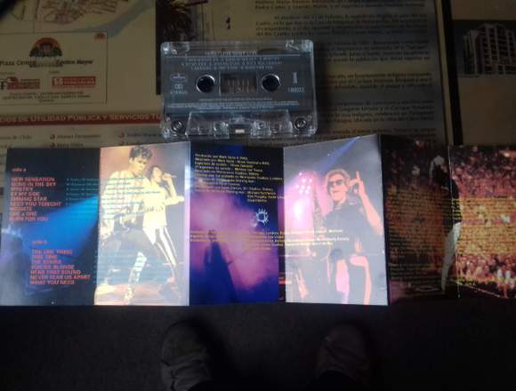 """Cassette inxs """"live baby live"""""""