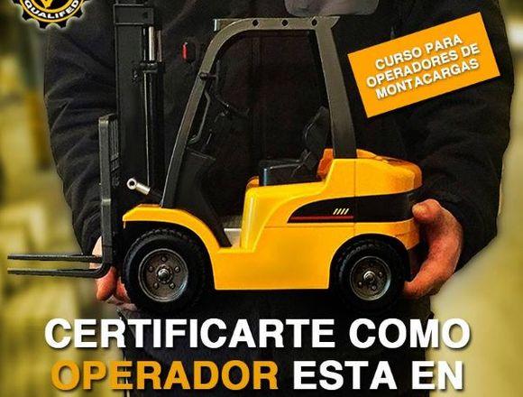 CURSO PARA OPERADORES DE MONTACARGAS