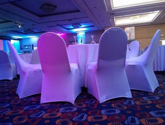 Alquiler de Manteleria Spandex para Eventos