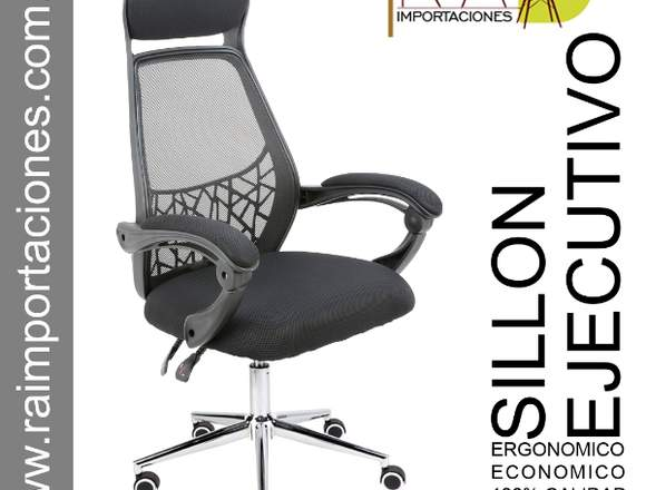silla reclinable ergonomica