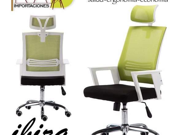 silla ergonomica ibiza