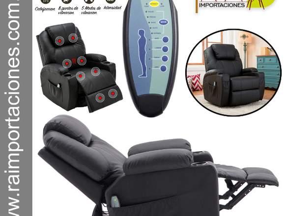 sofa masaje calefacción