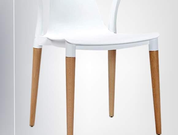 silla moderna plastica bar