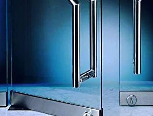 reparacion mantenimiento puertas de vidrio caracas