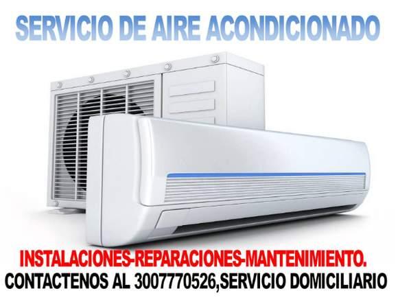Aire Acondicionado.Servicio Domiciliario.