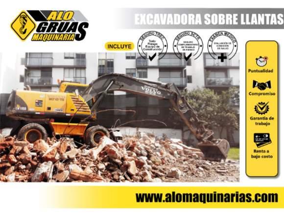 ALQUILER EXCAVADORA, MINICARGADORES Y MAS
