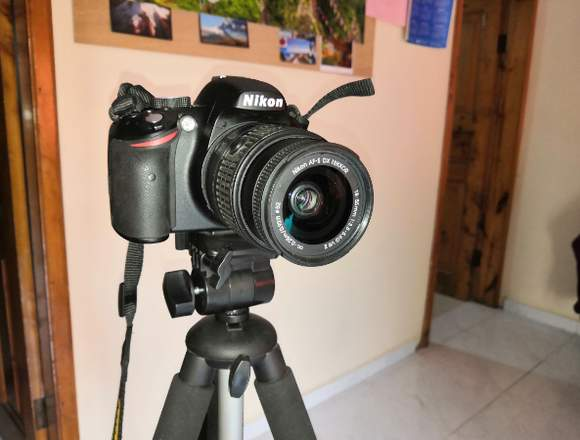 Vendo URGENTE Cámara Nikon D3200